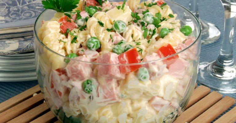 salada de mcarrão
