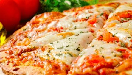 pizza de frigideira de liquidificador