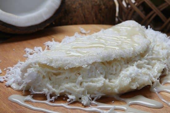 tapioca com coco
