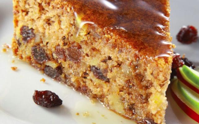 bolo de maçã com especiarias