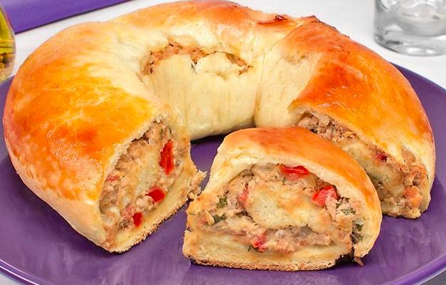 Pão de Batata com Atum
