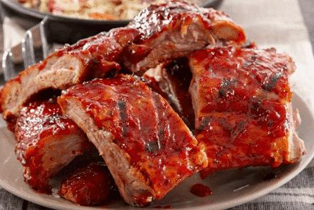 costelinha de porco americana
