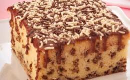 bolo formigueiro de leite ninho com coco
