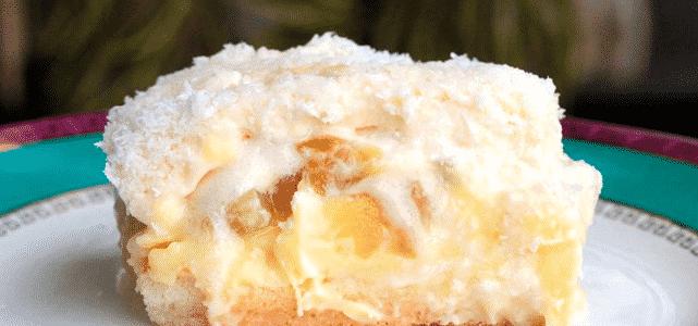 Torta de Abacaxi super cremosa