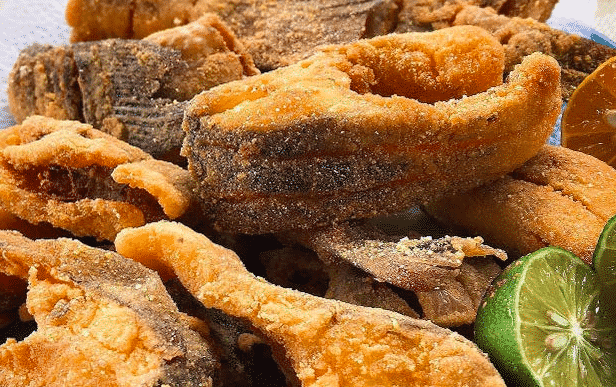 peixe frito sequinho