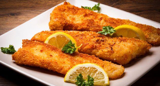 Então a receita de hoje é desse Delicioso e Crocante Peixe à Dorê, uma forma diferente de fazer peixe e deixar ele super crocante por e suculento por dentro.