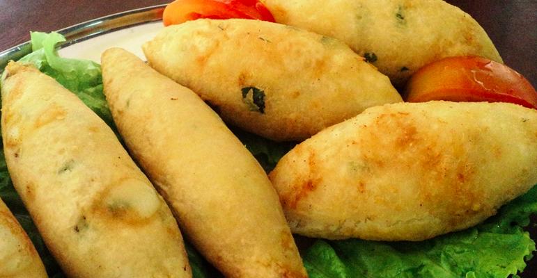 delicioso Bolinho de mandioca