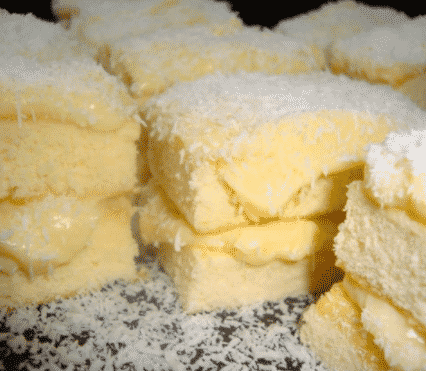bolo gelado com recheio de ninho