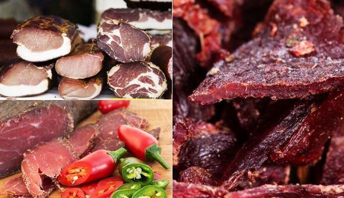 charque, carne seca e carne de sol