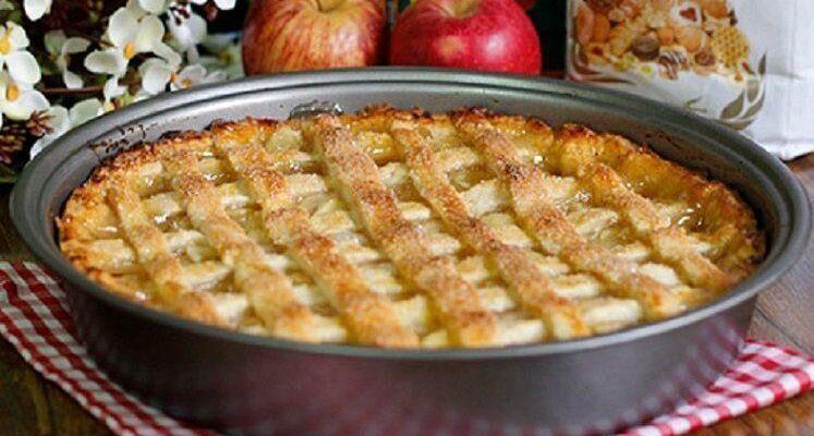 Maravilhosa torta de maçã