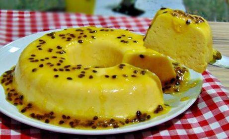 Pudim de Maracujá delicioso