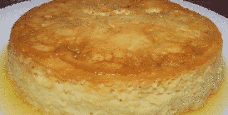 Pudim de pão que não vai ao forno