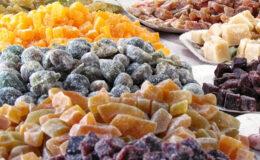 Doces Cristalizados deliciosos