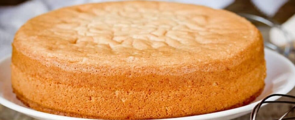 Pão de Ló de Liquidificador massa fofinha fica gostosa vamos preparar