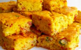 Torta Rápida de Calabresa com bacon