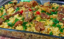 arroz caipira