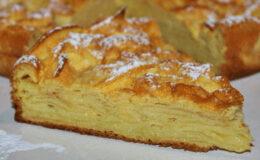 Torta de Maçã cremosa