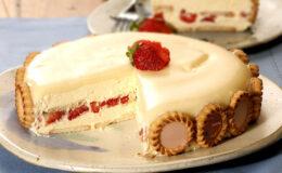 Torta Holandesa de Chocolate Branco