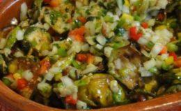 salada de Jiló nutritiva