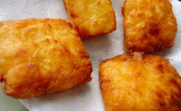 Mandioca Frita Cremosa Fácil